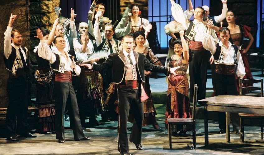 Carmen zahájí Thurn und Taxis Palace Festival: Martin Bárta jako Escamillo